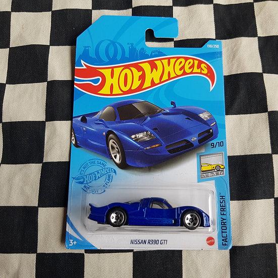 Hot Wheels 2021 Factory Fresh Nissan R390 GT1 Blue
