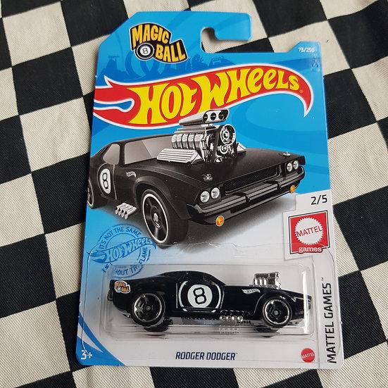 Hot Wheels 2021 Mattel Games Magic 8 Ball Rodger Dodger
