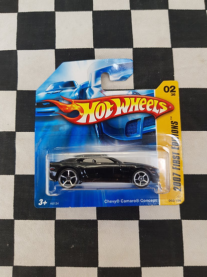 Hot Wheels 2007 First Editions Chevy Camaro Concept Black