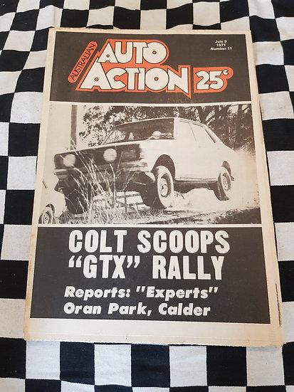 Australian Auto Action Magazine #11 July 9 1971