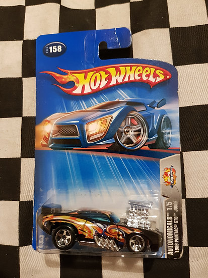 Hot Wheels 2004 Autonomicals 1969 Pontiac GTO Judge