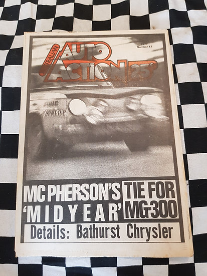Australian Auto Action Magazine #12 July 23 1971
