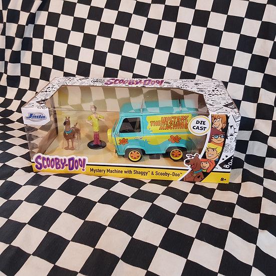 Jada 1:24 Scooby Doo! Mystery Machine Van with Shaggy & Scooby