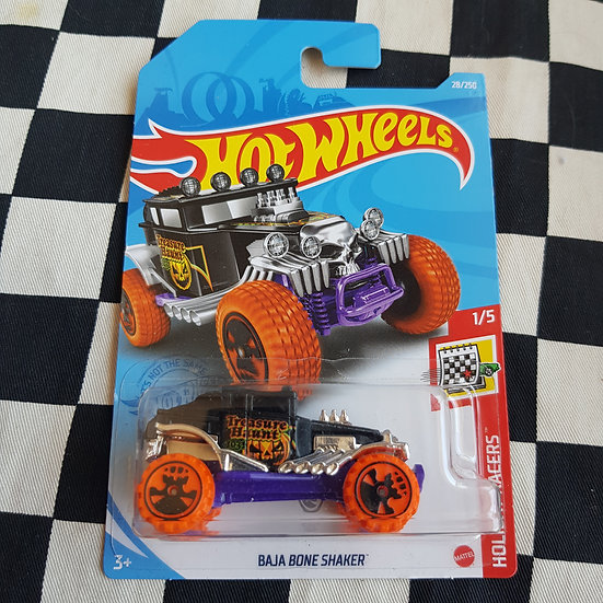 Hot Wheels 2020 Holiday Racers TREASURE HUNT Baja Bone Shaker