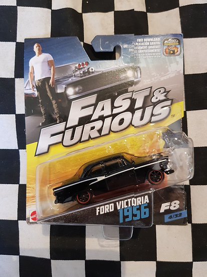 Fast & Furious 1:50 1956 Ford Victoria
