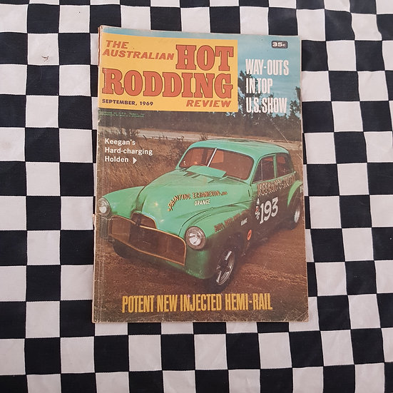 Australian Hot Rodding Review Sept 1969