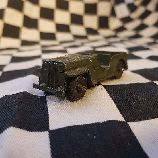 Vintage Totsie Toy Model Jeep USA