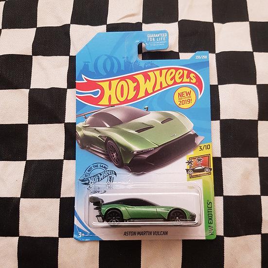 Hot Wheels 2019 Exotics Aston Martin Vulcan Green