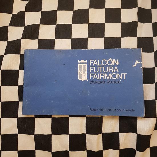 Genuine  XW Ford Falcon Futura Fairmont Owners Manual