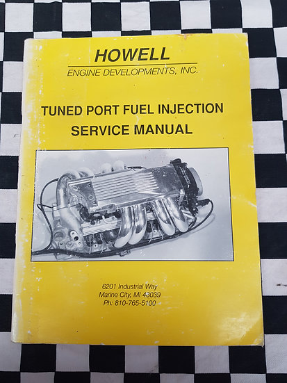 Tuned Port Fuel Injection Service Manual 1985-92 Iroc Camaro Corvette Pontiac