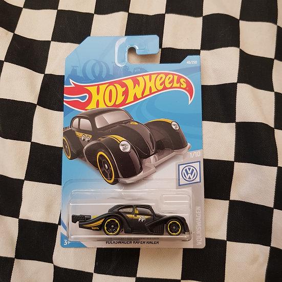 Hot Wheels 2019 Volkswagen MOONEYES Black Kafer Racer Moon