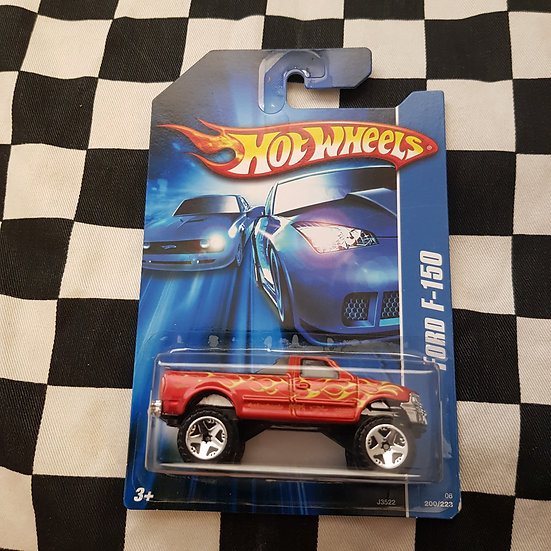Hot Wheels 2007 First Editions Ford F150 Pickup Truck Red
