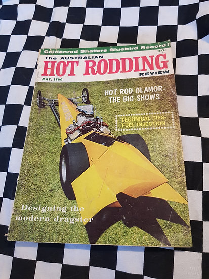 Australian Hot Rodding Review May 1966