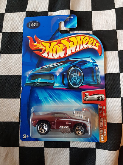 Hot Wheels 2004 First Editions Tooned Camaro Z28 1969