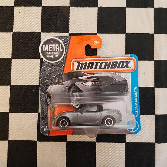 Matchbox 2016 Mazda MX-5 Miata Silver