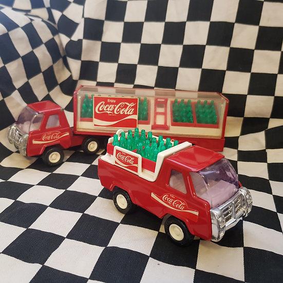 Vintage Tonka Coca-Cola Trucks