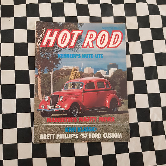 Australian Hot Rod Magazine Sept / Oct 1976