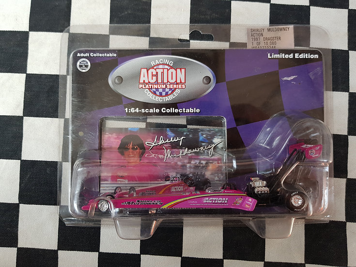 Shirley Muuldowney TOP FUEL DRAGSTER  1:64 Action Racing Collectables