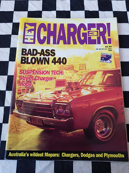 HEY CHARGER #3 magazine