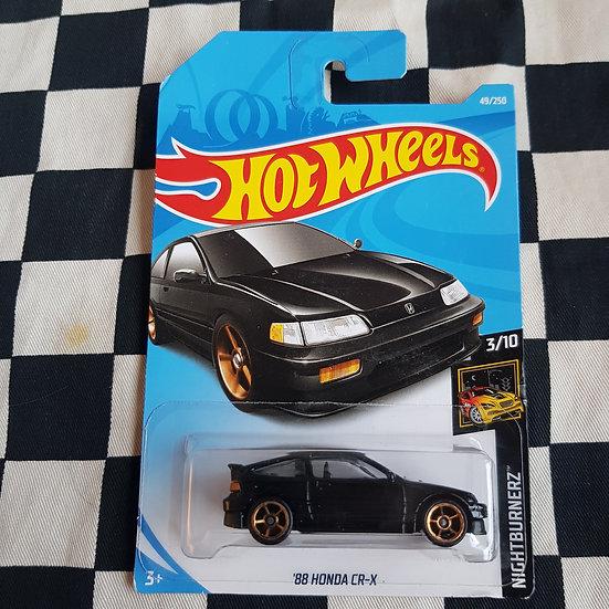 Hot Wheels 2019 Nightburnerz 1988 Honda CRX Black