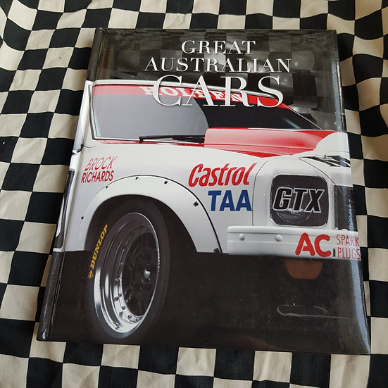 Great Australian Cars  Coffee Table Book Over 150 Pages!