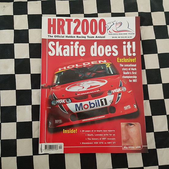 HRT 2000 Official Holden Racing Team Annual