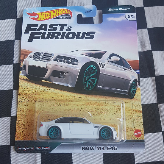Hot Wheels Premium Fast & Furious Euro Fast  Bmw M3 E46