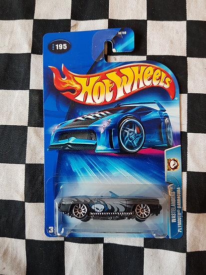 Hot Wheels 2004 Wastelanders Plymouth Barracuda