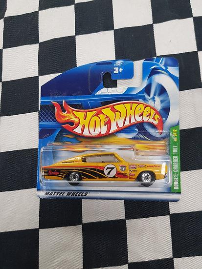 Hot Wheels 2000 Treasure Hunt 1967 Dodge Charger Real Riders Not Super