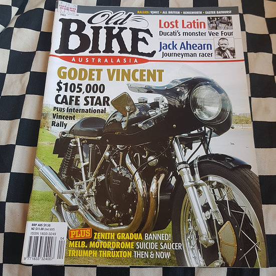 Old Bike Magazine #4 Vintage/ Classic Motorcycles