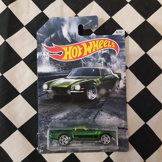 Hot Wheels American Steel 70 Camaro Green