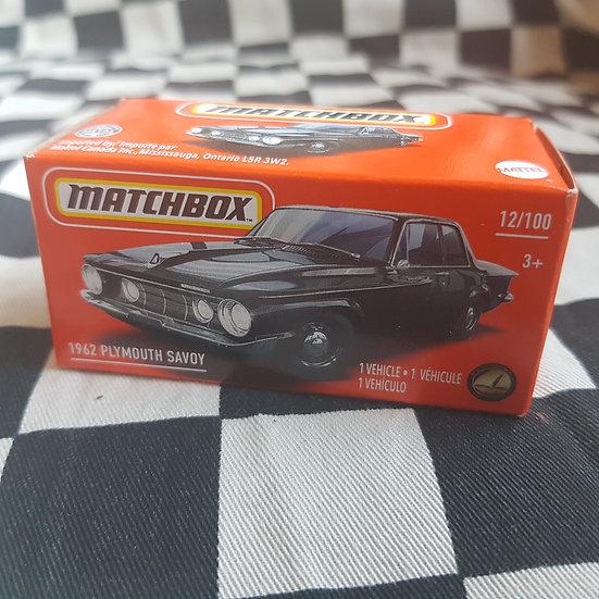 Matchbox Power Grab 1962 Plymouth Savoy