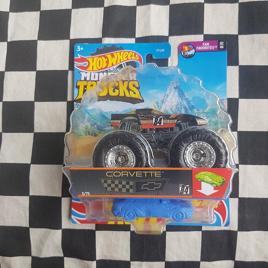 Hot Wheels Monster Trucks Corvette