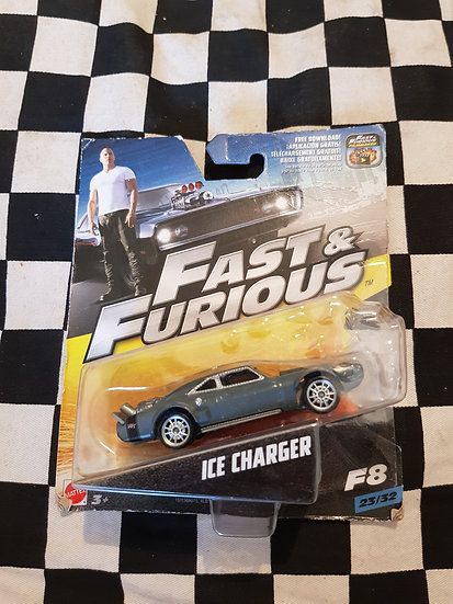 Fast & Furious 1:50 Ice Charger