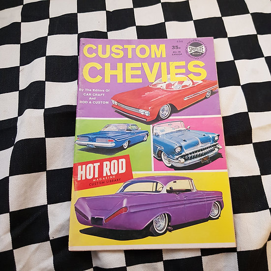 Little Pages Custom Chevies By Car Craft, Rod & Custom, Hot Rod Magazine