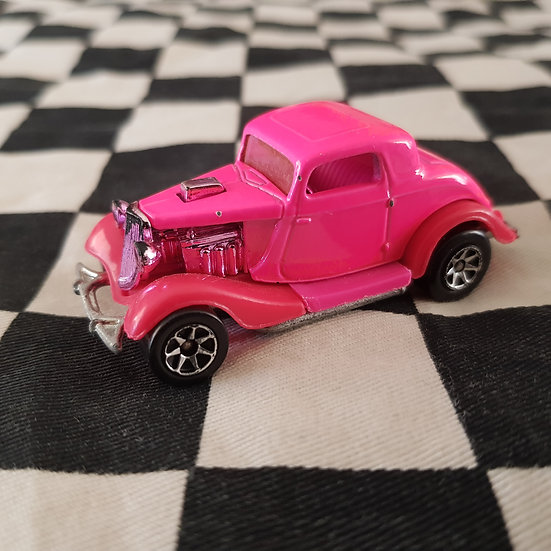 Vintage Loose Hot Wheels 1934 Ford Hot Rod Coupe PINK