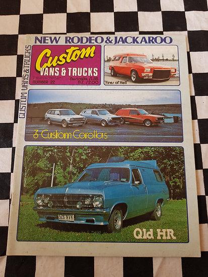 CUSTOM VANS & TRUCKS magazine #22
