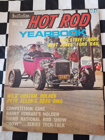 AUSTRALIAN HOTROD YEARBOOK #3 1967 NEWSTAND EDITION