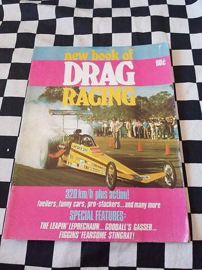 New Book of Drag Racing 1976 Australian Magazine