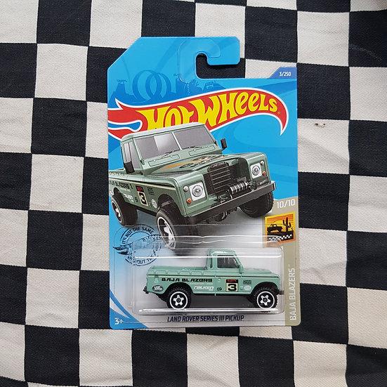Hot Wheels 2020 Baja Blazers Land Rover Series 3 Pickup