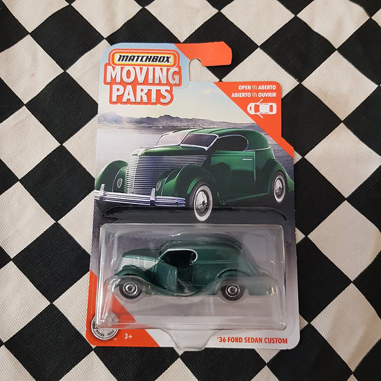 Matchbox Moving Parts 36 Ford sedan Delivery Custom Green