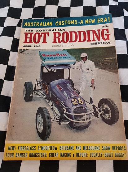 Australian Hot Rodding Review magazine April 1968