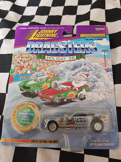 Johnny Lightning DRAGSTERS Roarin Rudolf
