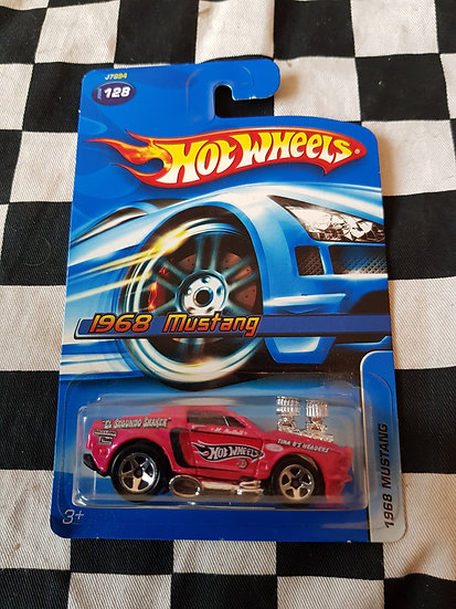 Hot Wheels 2006 1968 Mustang pink