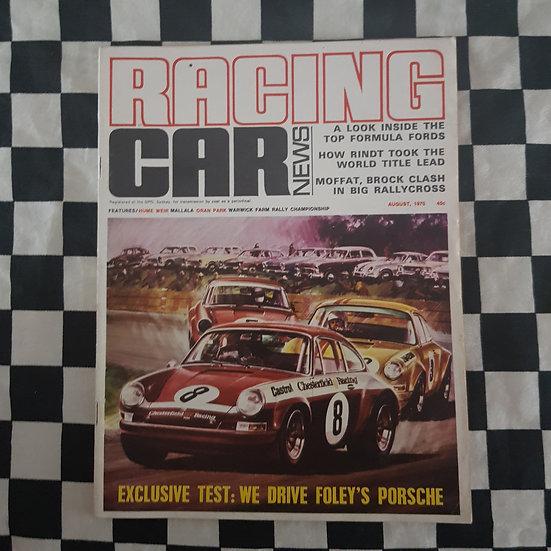 Racing Car News 8/70 Porsche