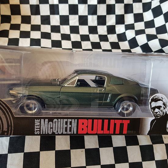 Steve McQueen Bullitt Mustang Greenlight Collectables 1:18 Scale Model