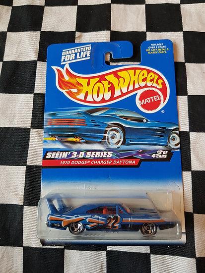 Hot Wheels 1997 Seein 3d series 1970 Dodge Charger Daytona