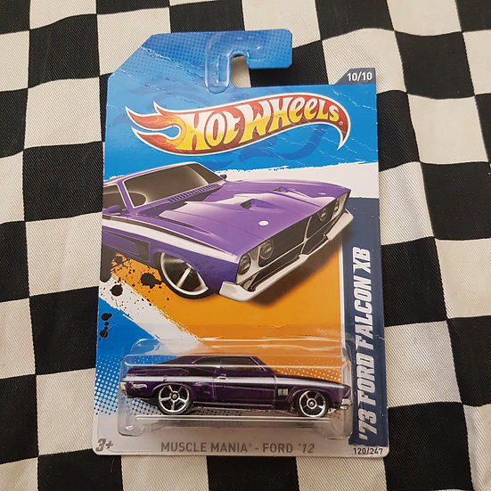 Hot Wheels 2012 Muscle Mania Ford Falcon XB Purple