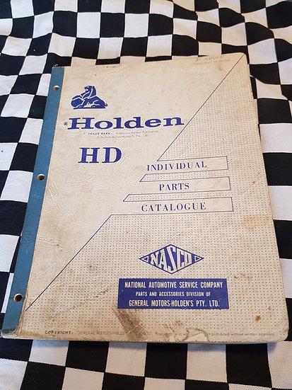 HD Holden Individual Parts Catalogue
