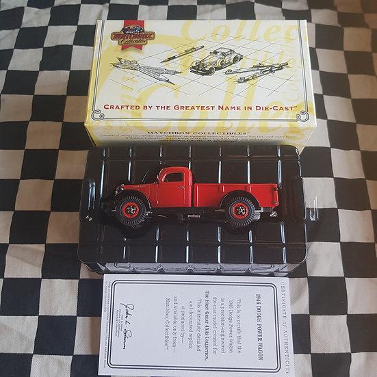 Matchbox Collectables 1:43 1946 Dodge Power Wagon Premium Grade Model